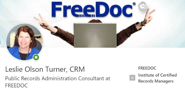 Record Rehab's Leslie Turner's LinkedIn Profile